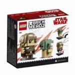 LEGO 41627 BrickHeadz Luke Skywalker & Yoda Box Rückseite