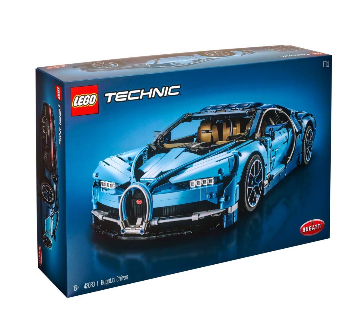 LEGO 42083 Technic Bugattti Chiron Box