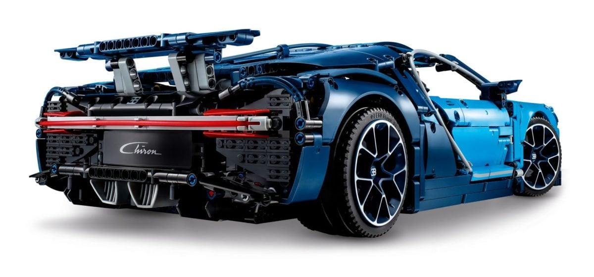 LEGO 42083 Technic Bugattti Chiron Hinten