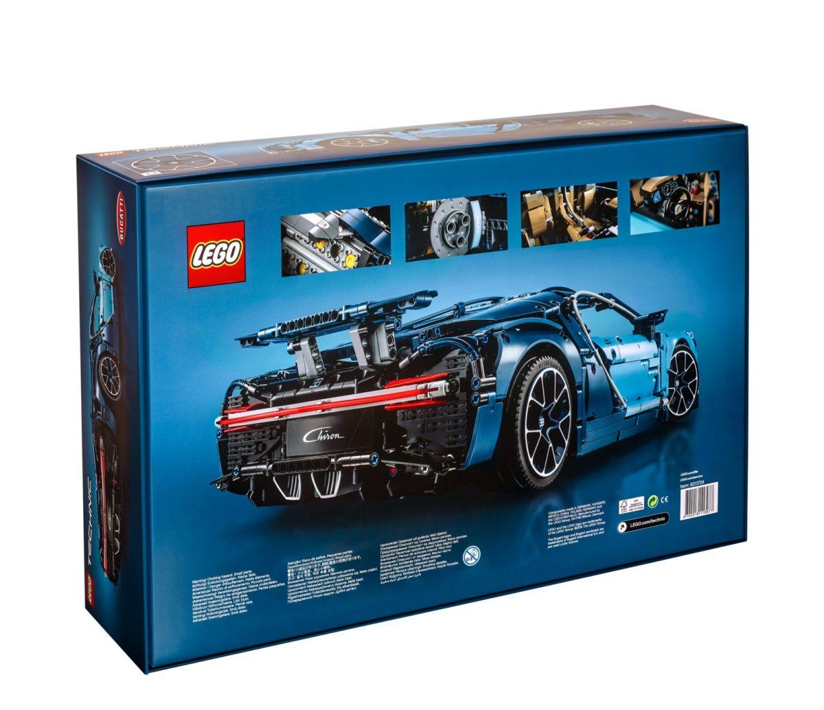 LEGO 42083 Technic Bugattti Chiron Box Hinten