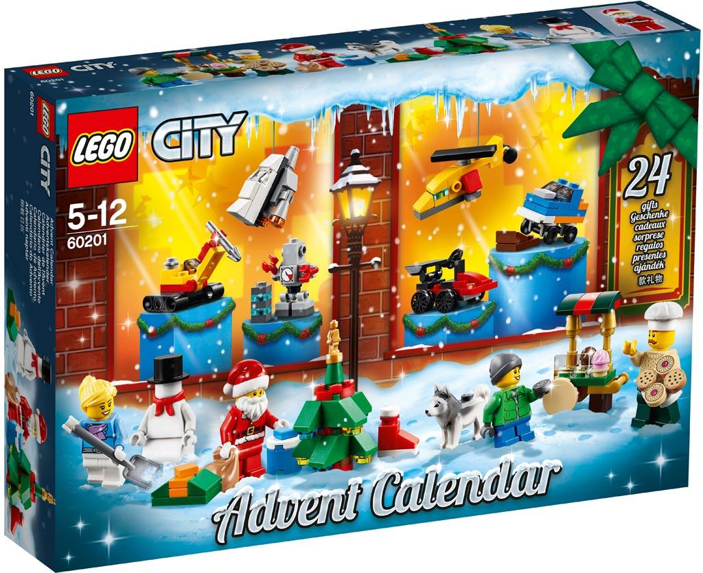 LEGO 60201 City Adventskalender 2018