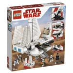LEGO 75221 Imperiale Landefähre Box Rückeseite