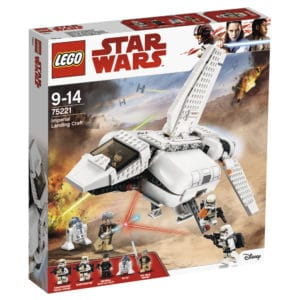 LEGO 75221 Imperiale Landefähre Box Vorne