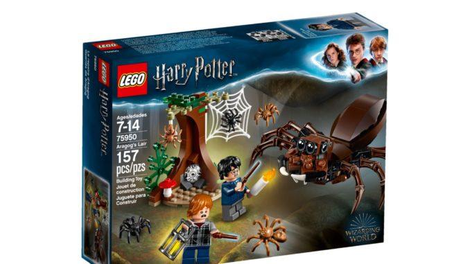 LEGO 75950 Aragogs Versteck Box
