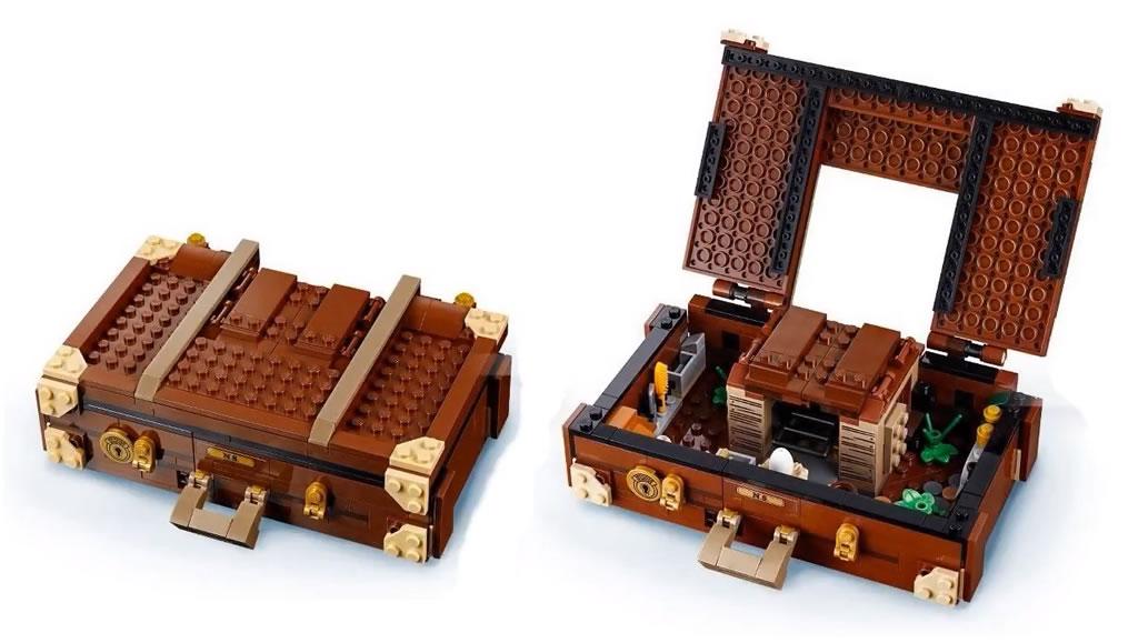 LEGO 75952 Newt und seine magischen Tierwesen