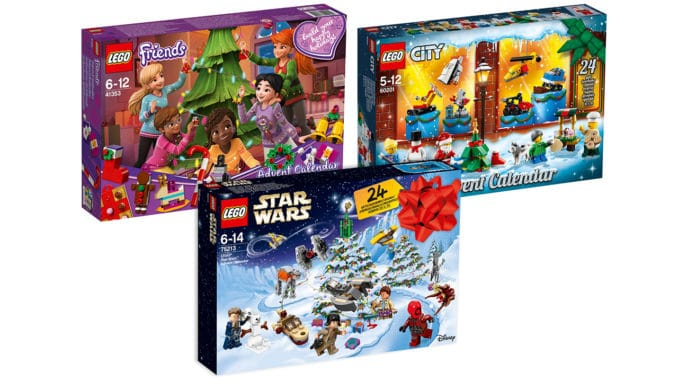 Weihnachtskalender Lego Friends.Lego Adventskalender 2018 Star Wars City Und Friends Vorgestellt