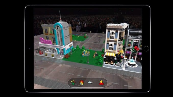 LEGO Augmented Reality App angekündigt