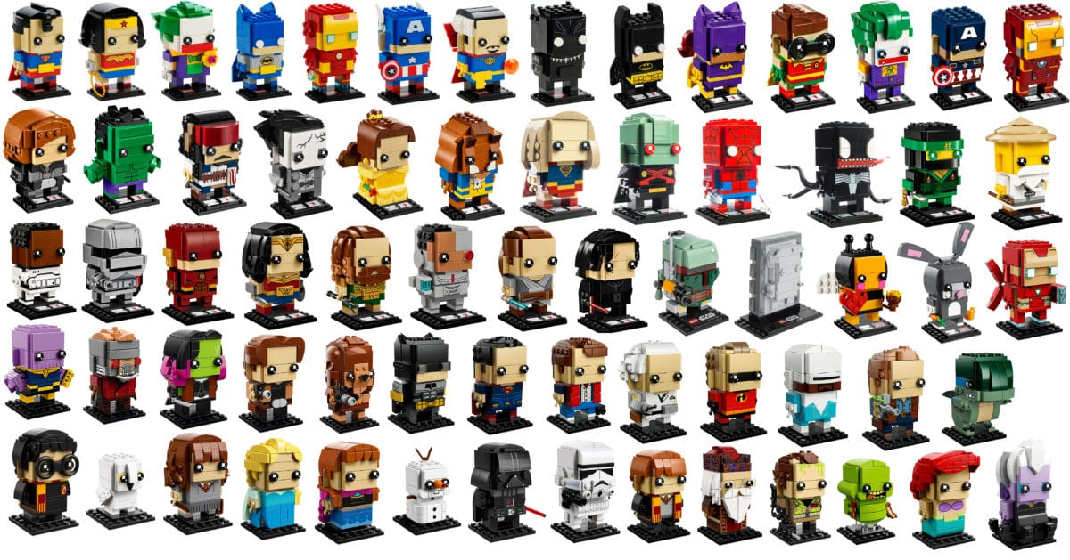 LEGO BrickHeadz Übersicht