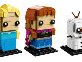 LEGO Frozen BrickHeadz 41617 und 41618