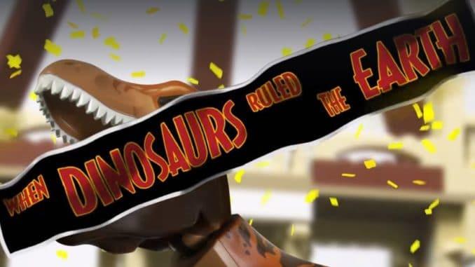 LEGO Jurassic Park Teaser