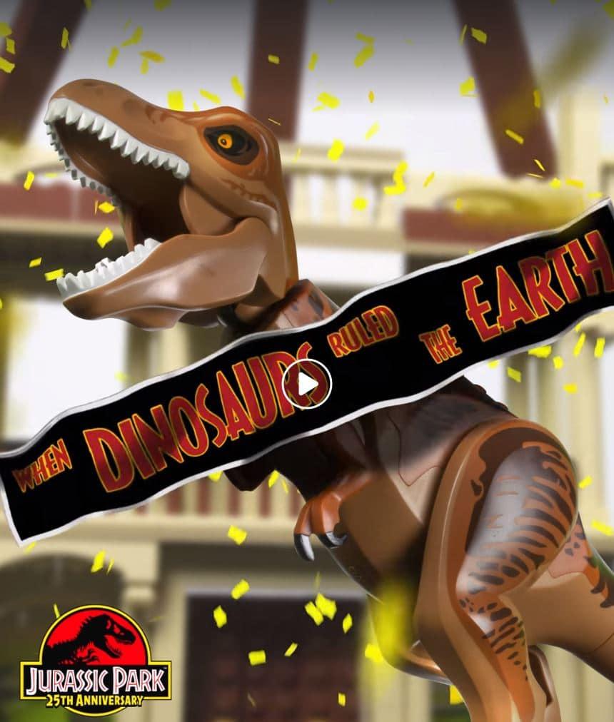 LEGO Jurassic Park Besucherzentrum Teaser