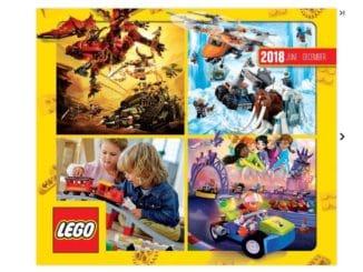 LEGO Katalog Juli bis Dezember 2018