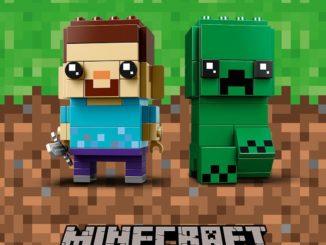 LEGO Minecraft BrickHeadz Steve & Creeper 41612