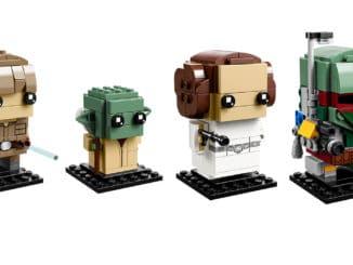 LEGO Star Wars BrickHeadz 41627, 41628 und 41629