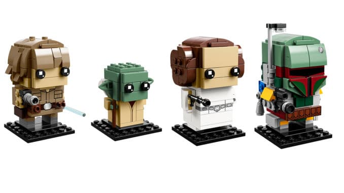 Star Wars 41627 Lego Brickheadz Luke Skywalker And Yoda