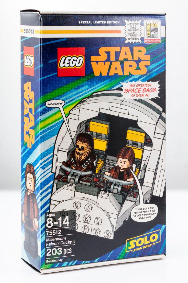 LEGO SDCC Exclusive 2018 Box
