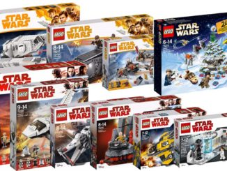LEGO Star Wars Sets 2018
