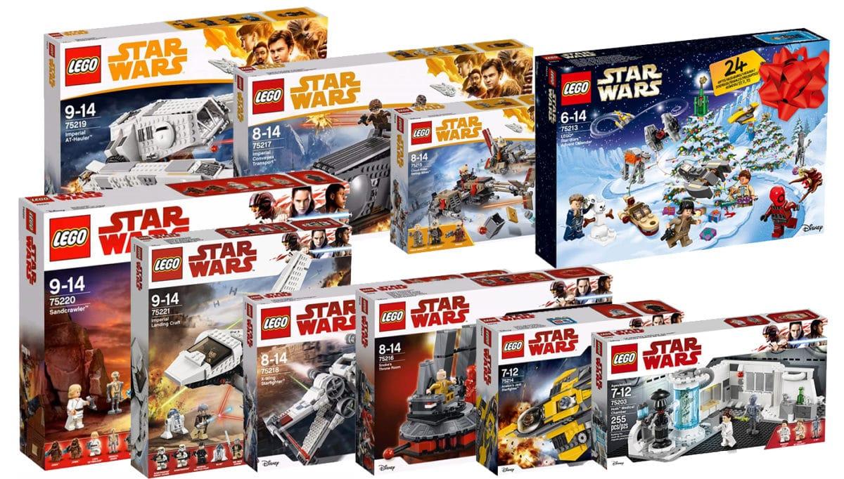 LEGO Star Wars Sets 2018