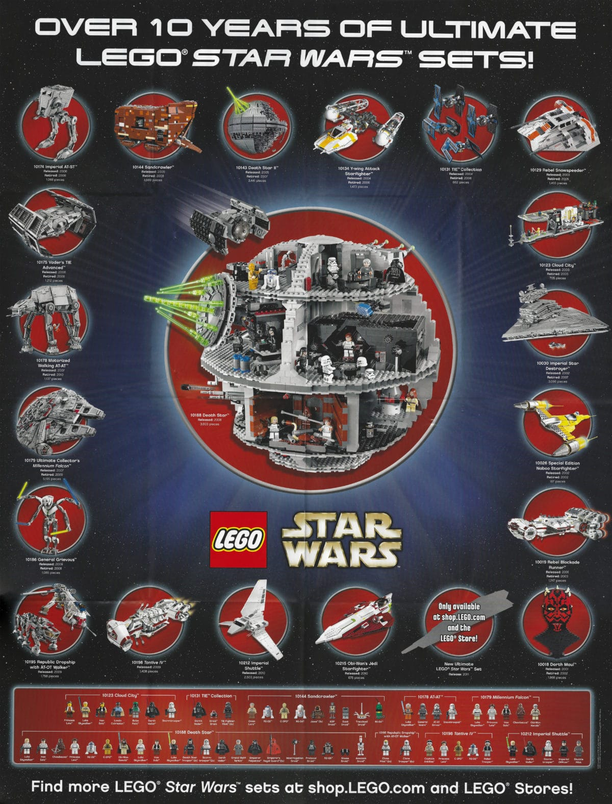 LEGO Star Wars UCS Poster 2011