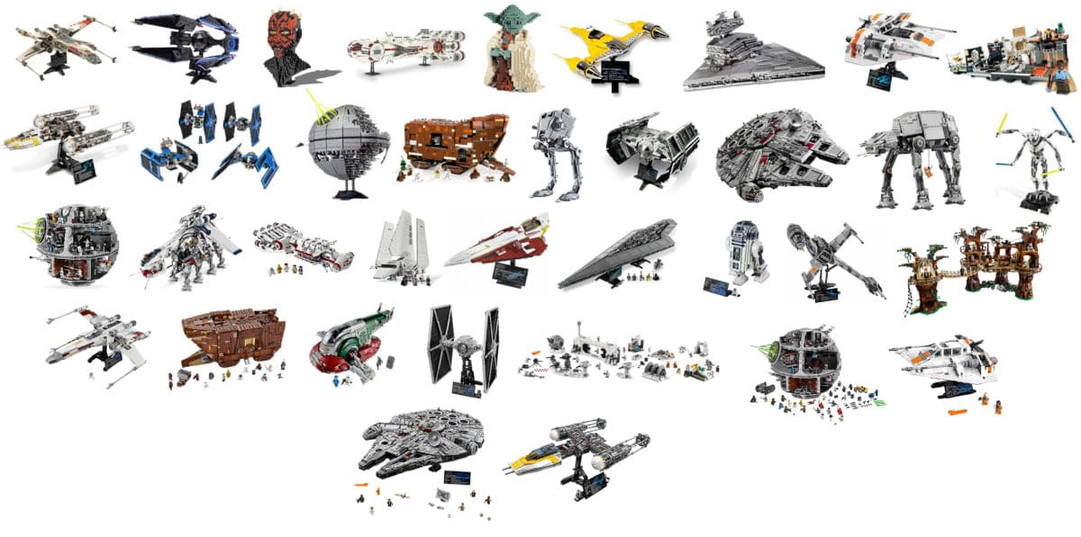 Lego Star Wars Ucs Sets Die Ultimate Collectors Series