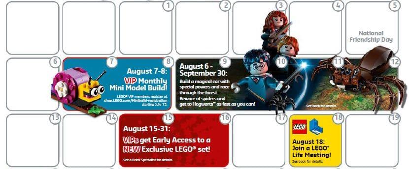 LEGO Store Flyer Hogwarts Vorverkauf
