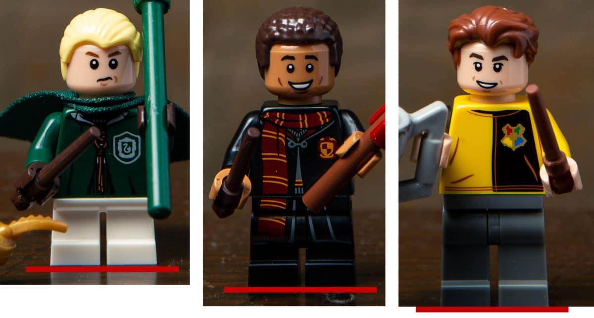 LEGO Teenie Beine Länge