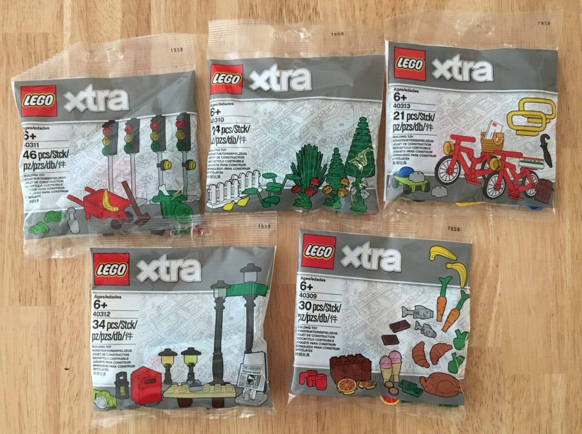 LEGO xtra Polybag Zubehör Serie Review