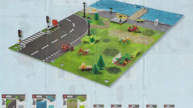 LEGO xtra Zubehör 853840, 853841, 853842