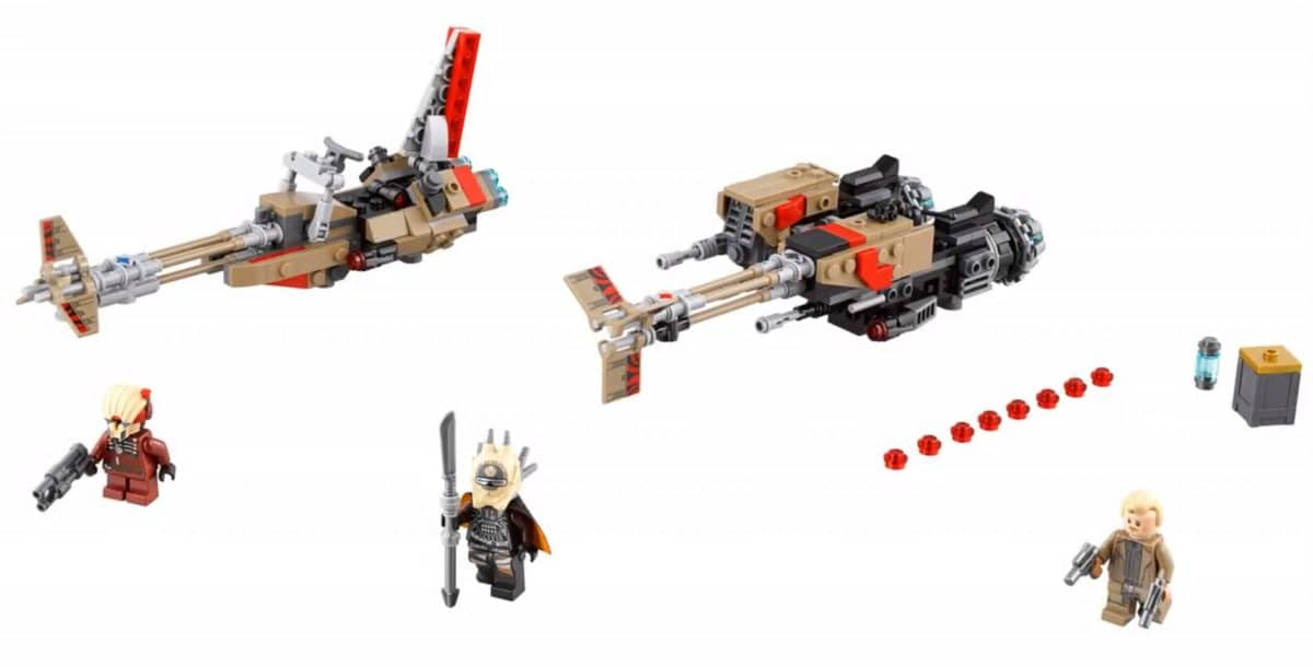 LEGO 75215 Cloud Rider Swoop Bikes