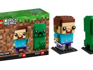 LEGO 41612 Steve & Creeper BrickHeadz