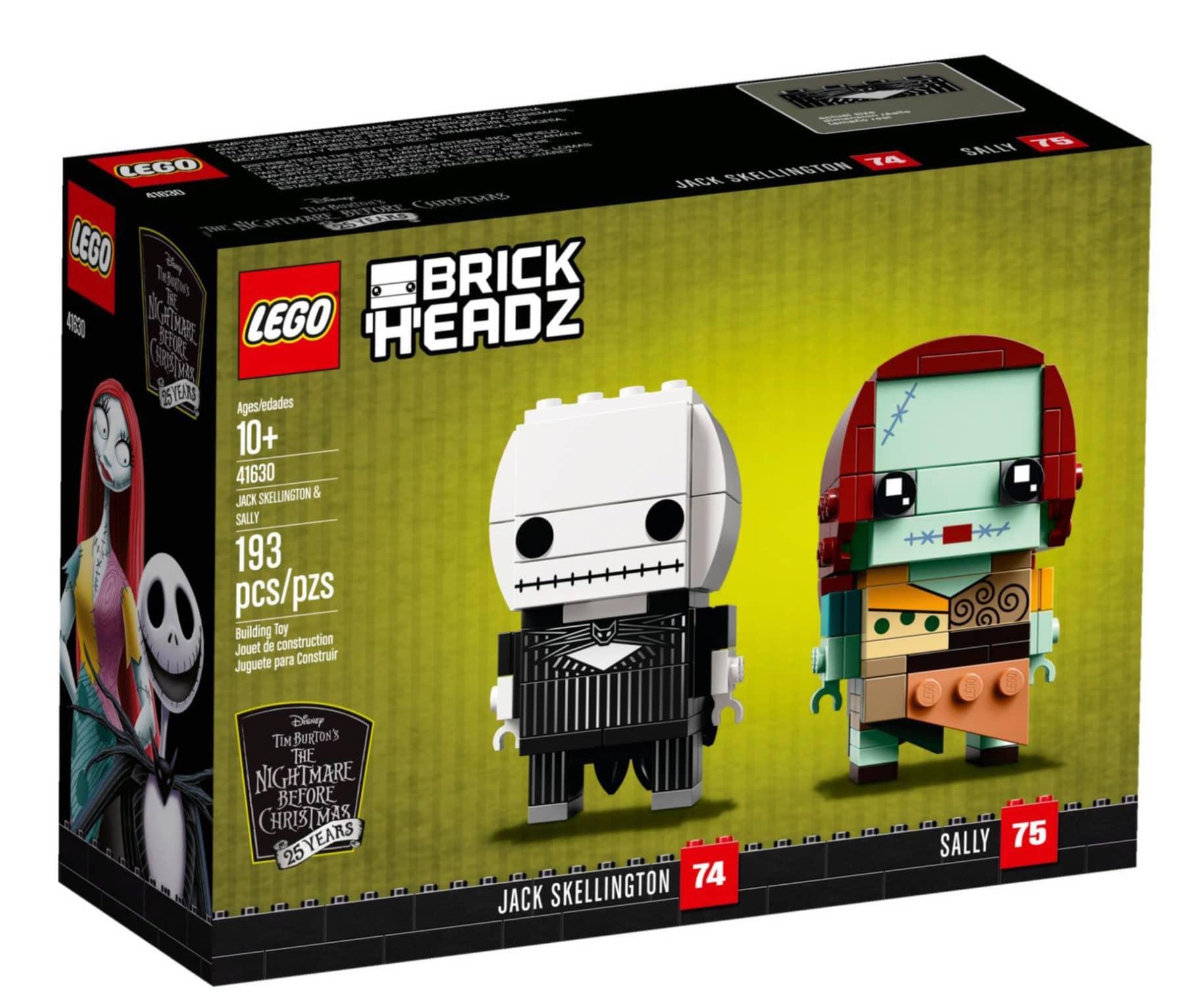lego 41630 jack und sally brickheadz jetzt im lego online shop. Black Bedroom Furniture Sets. Home Design Ideas