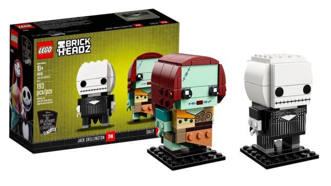 LEGO 41630 Jack und Sally BrickHeadz