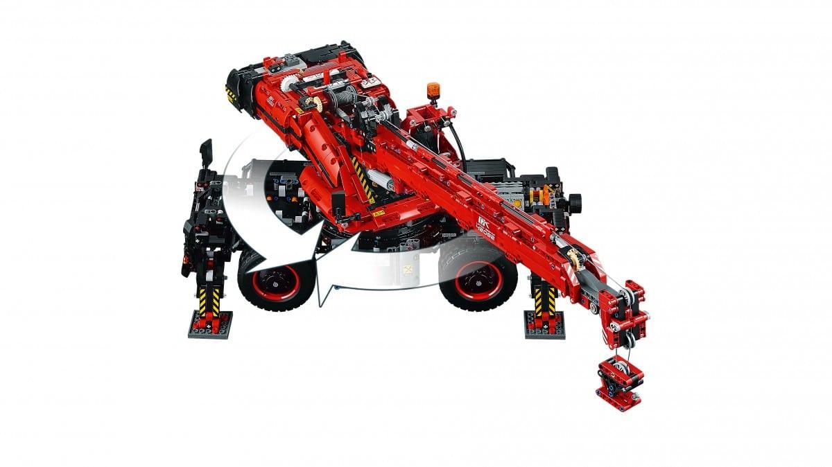 Lego 42082 Geländegängiger Kranwagen Für Nur 14998 Euro Inkl Versand