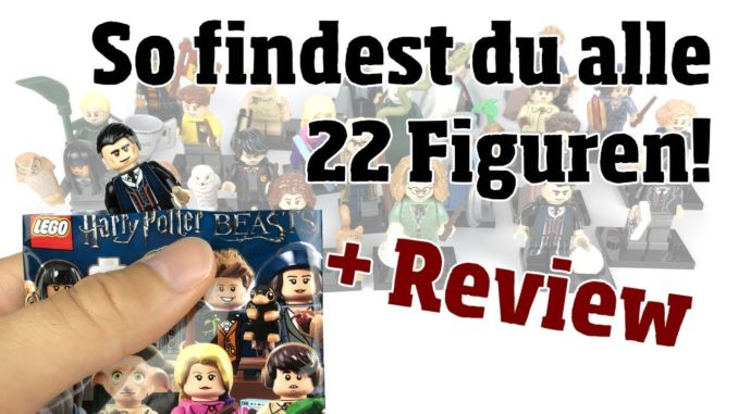 So findest du alle 22 Harry Potter Minifiguren + Review