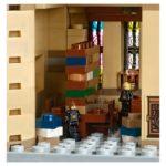 Bibliothek im LEGO 71043 Hogwarts Schloss