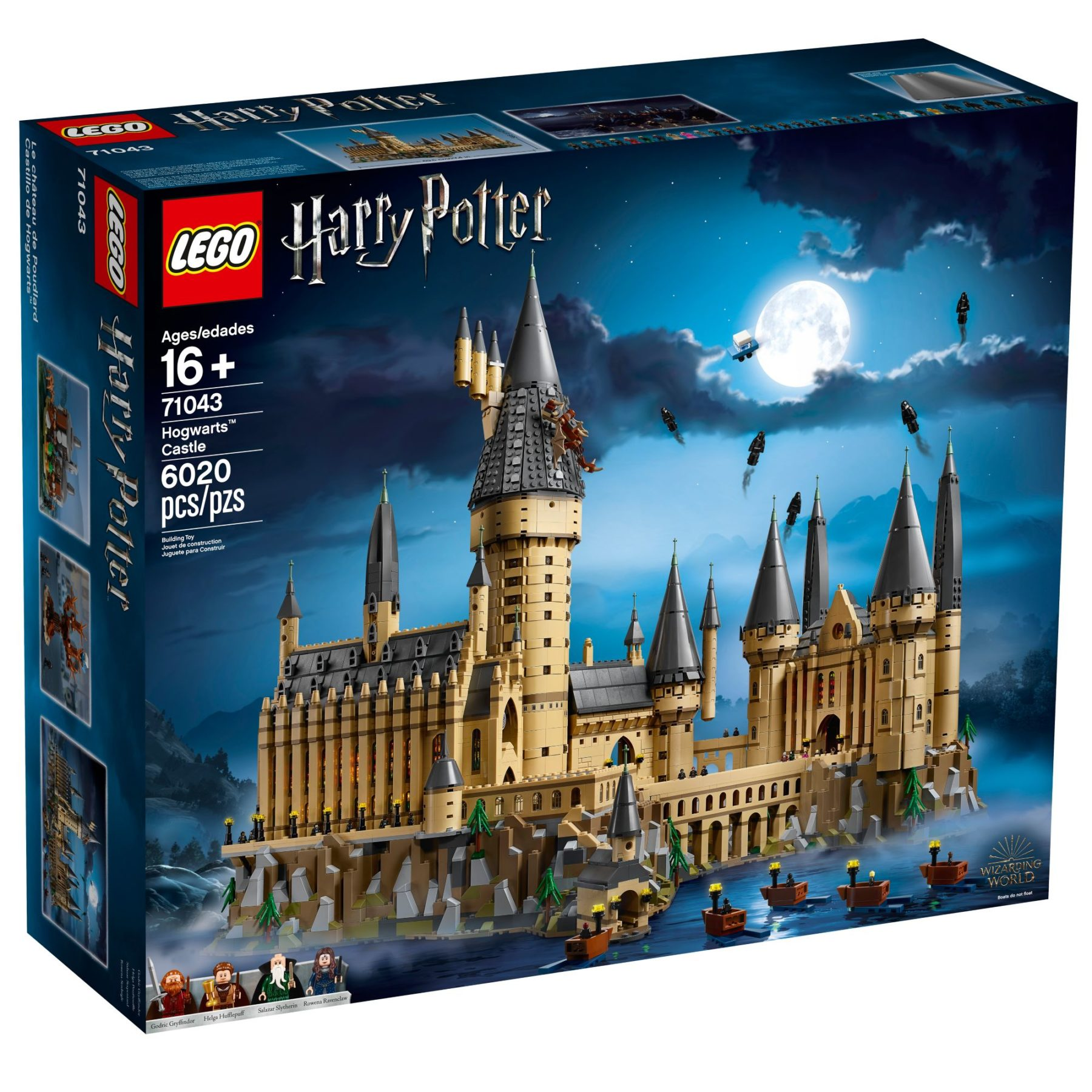 LEGO 71043 Hogwarts Schloss Box