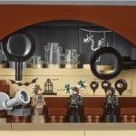 Verteidigung gegen die dunklen Künste im LEGO 71043 Hogwarts Schloss