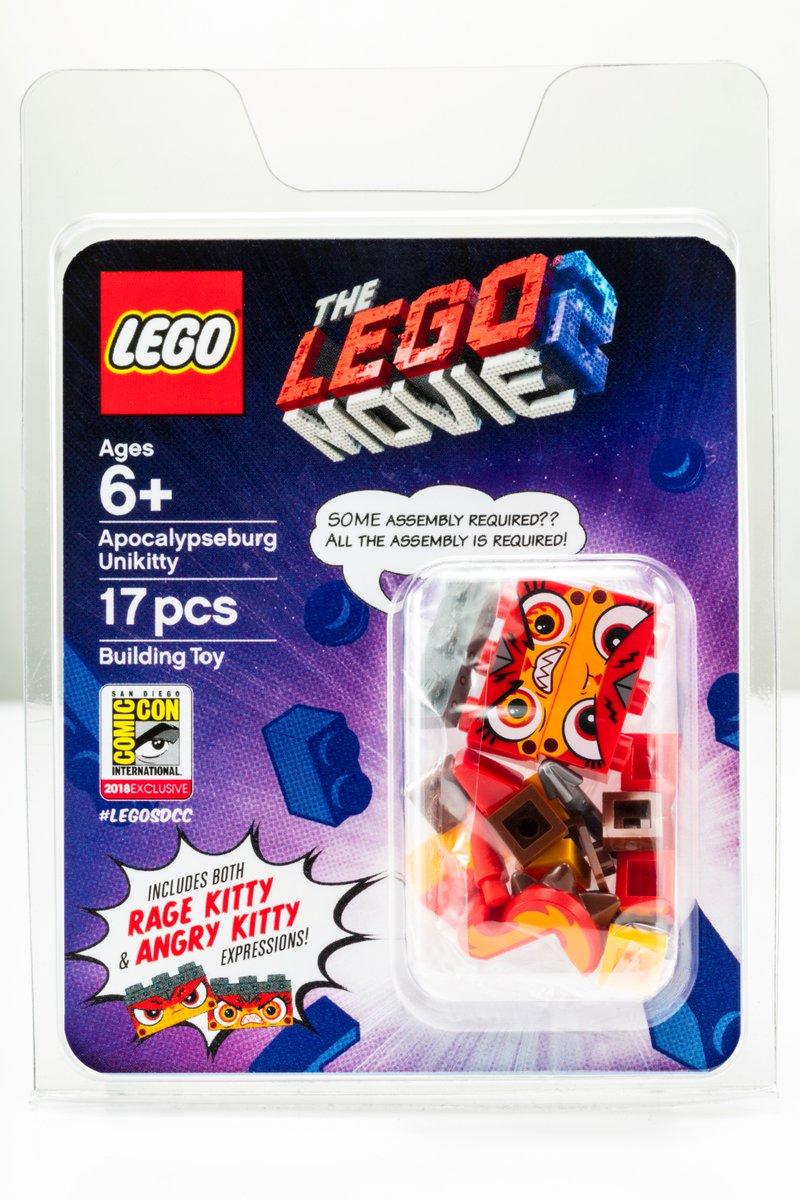 LEGO Apocalypseburg Unikitty Minifigur SDCC 2018