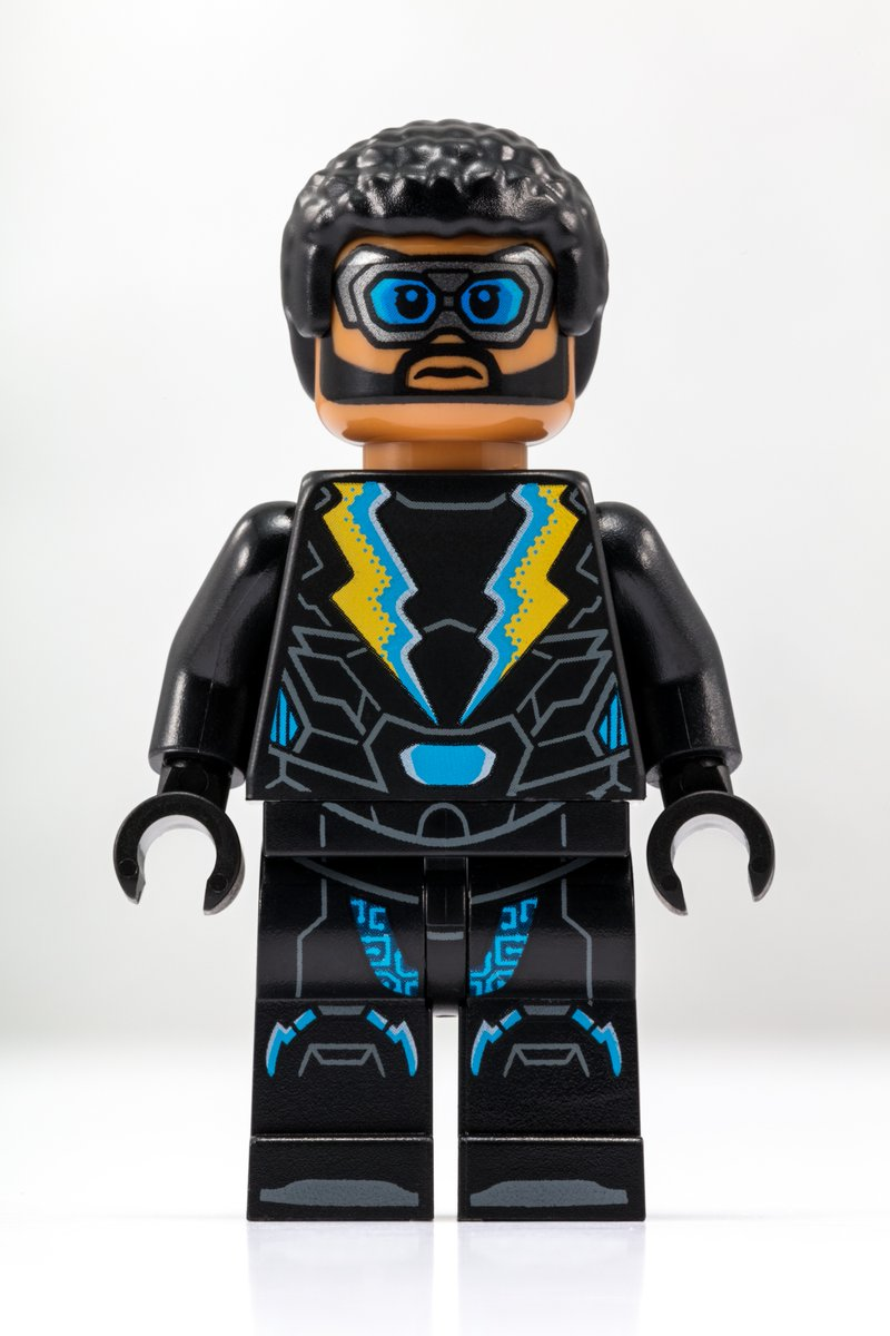 LEGO Black Lightning Minifigur SDCC Exclusive