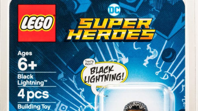 LEGO Black Lightning Teaser
