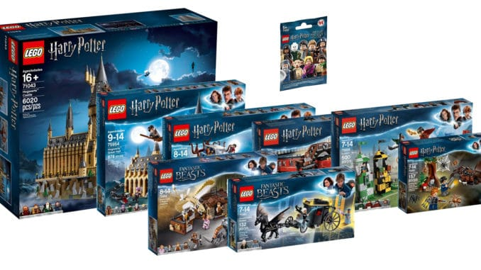 LEGO Harry Potter Sets 2018