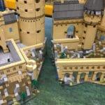 LEGO Hogwarts lässt sich in zwei Teile zerlegen