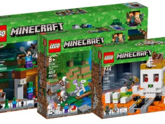 LEGO Minecraft Sets August 2018