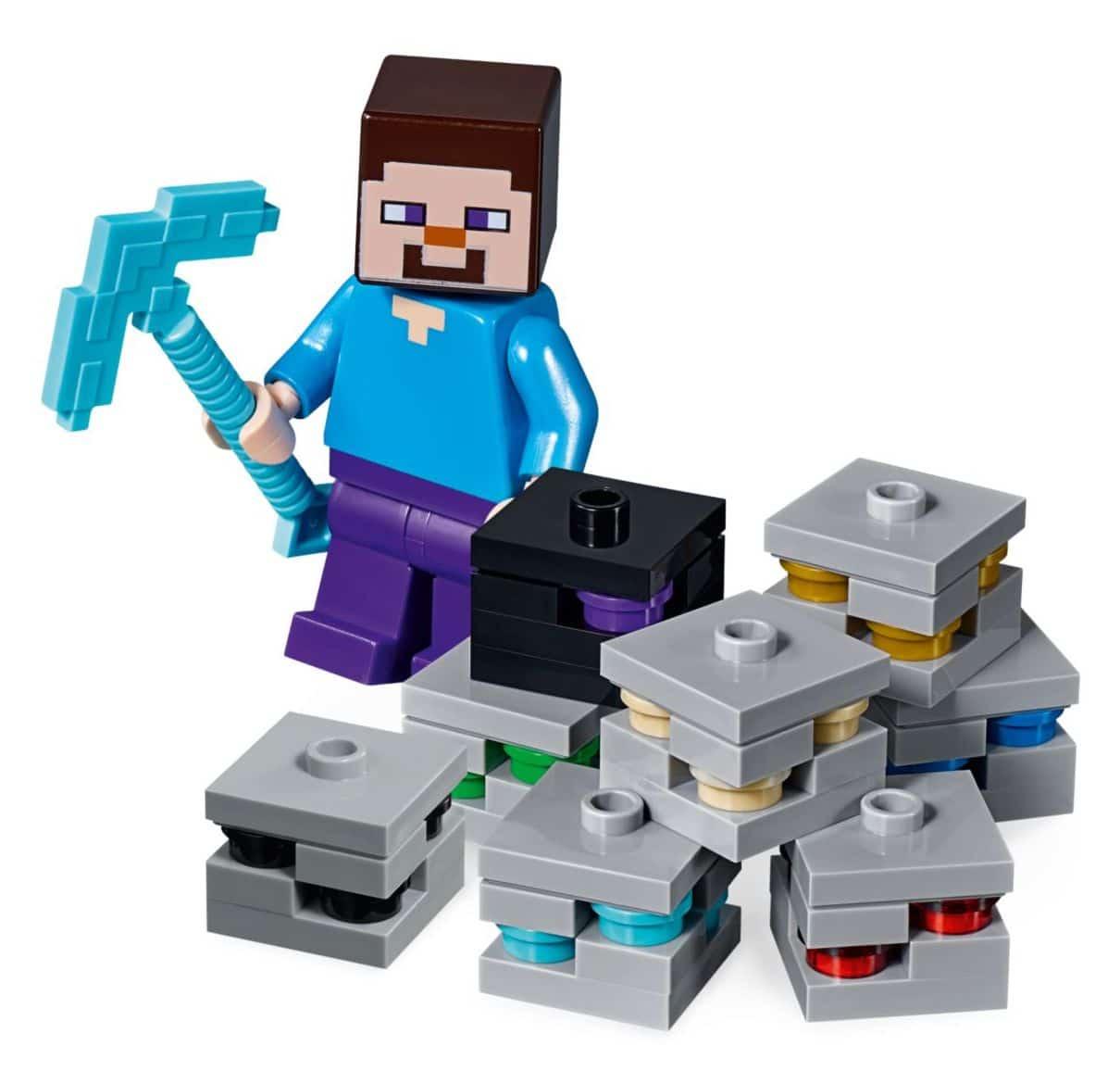 LEGO Minecraft 21147 The Bedrock Adventure