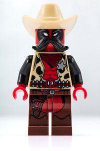 LEGO Sheriff Deadpool Minifigur