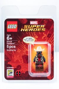 LEGO Sheriff Deadpool Minifigur MINT