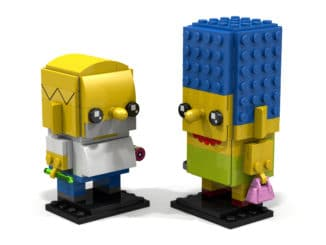 LEGO Simpsons BrickHeadz
