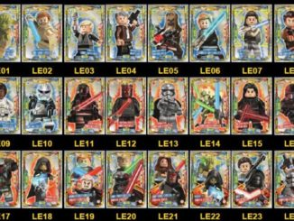 LEGO Star Wars Trading Card Collection Limited Karten
