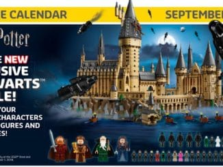 LEGO Store Flyer September 2018