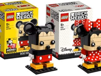 LEGO 41624 & 41625 Mickey und Minnie BrickHeadz